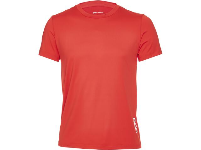POC Resistance Enduro Camiseta Hombre, prismane red